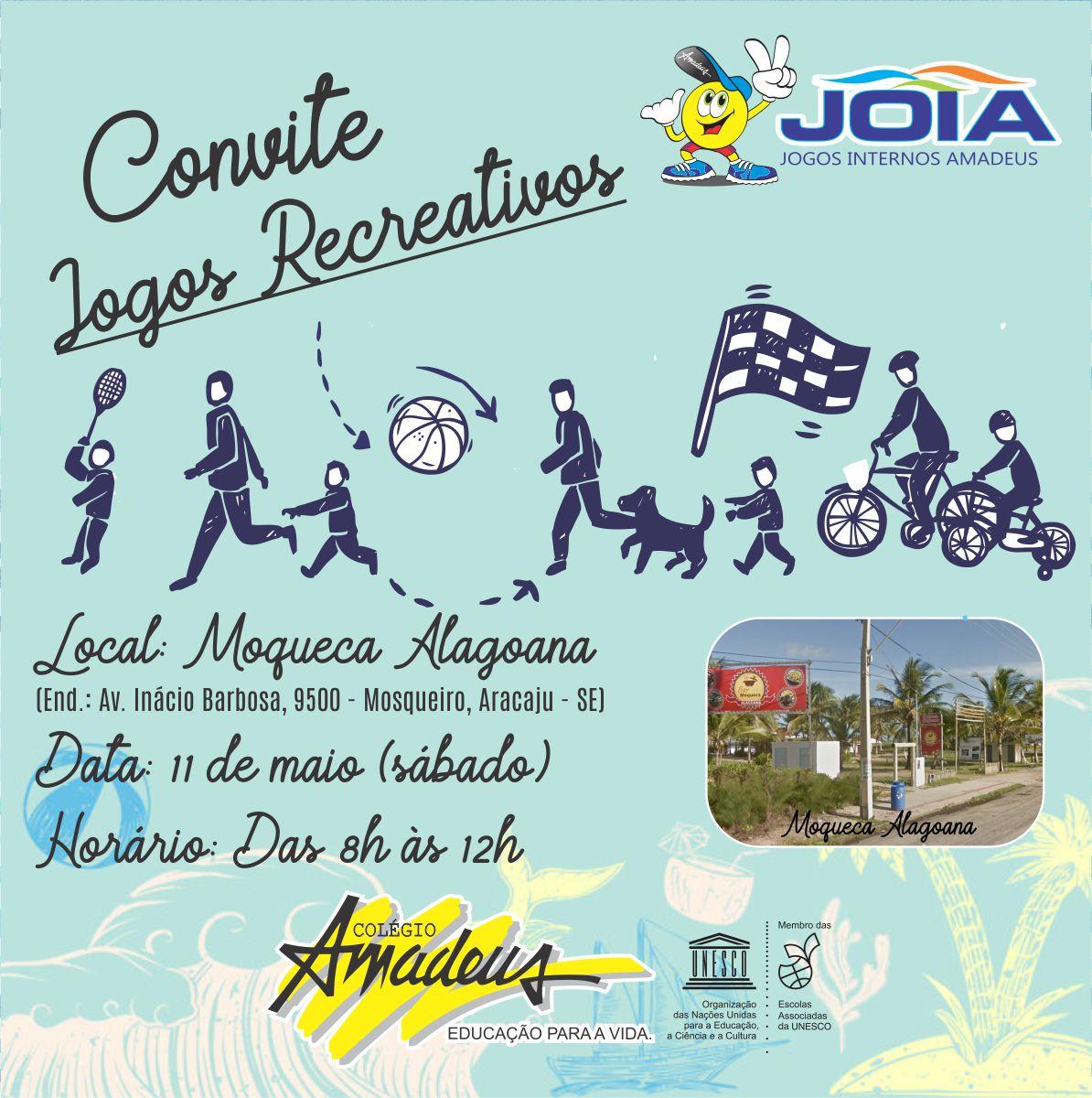JOIA 2019 - DIA DE ATIVIDADES RECREATIVAS NA PRAIA!