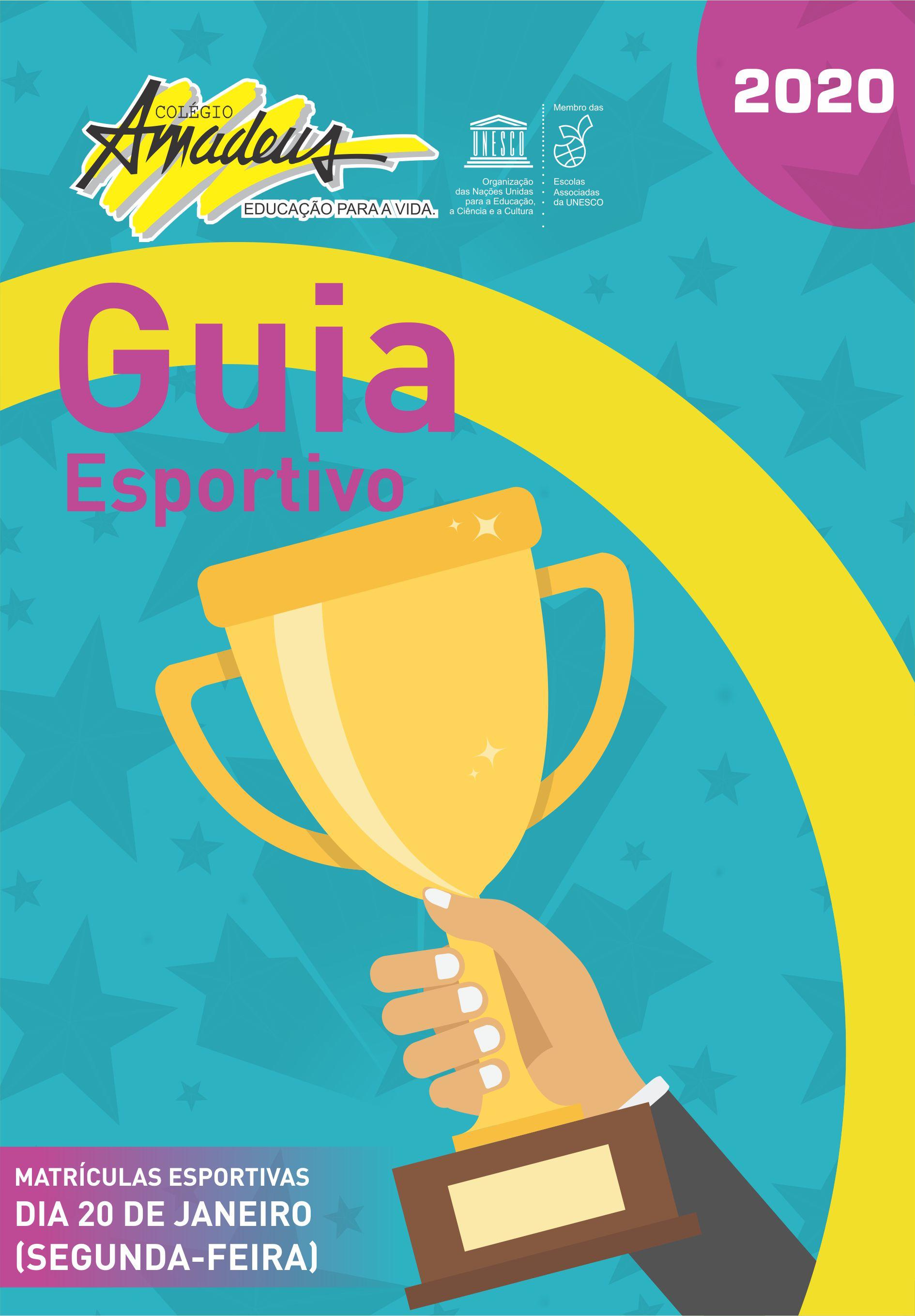 GUIA ESPORTIVO 2020
