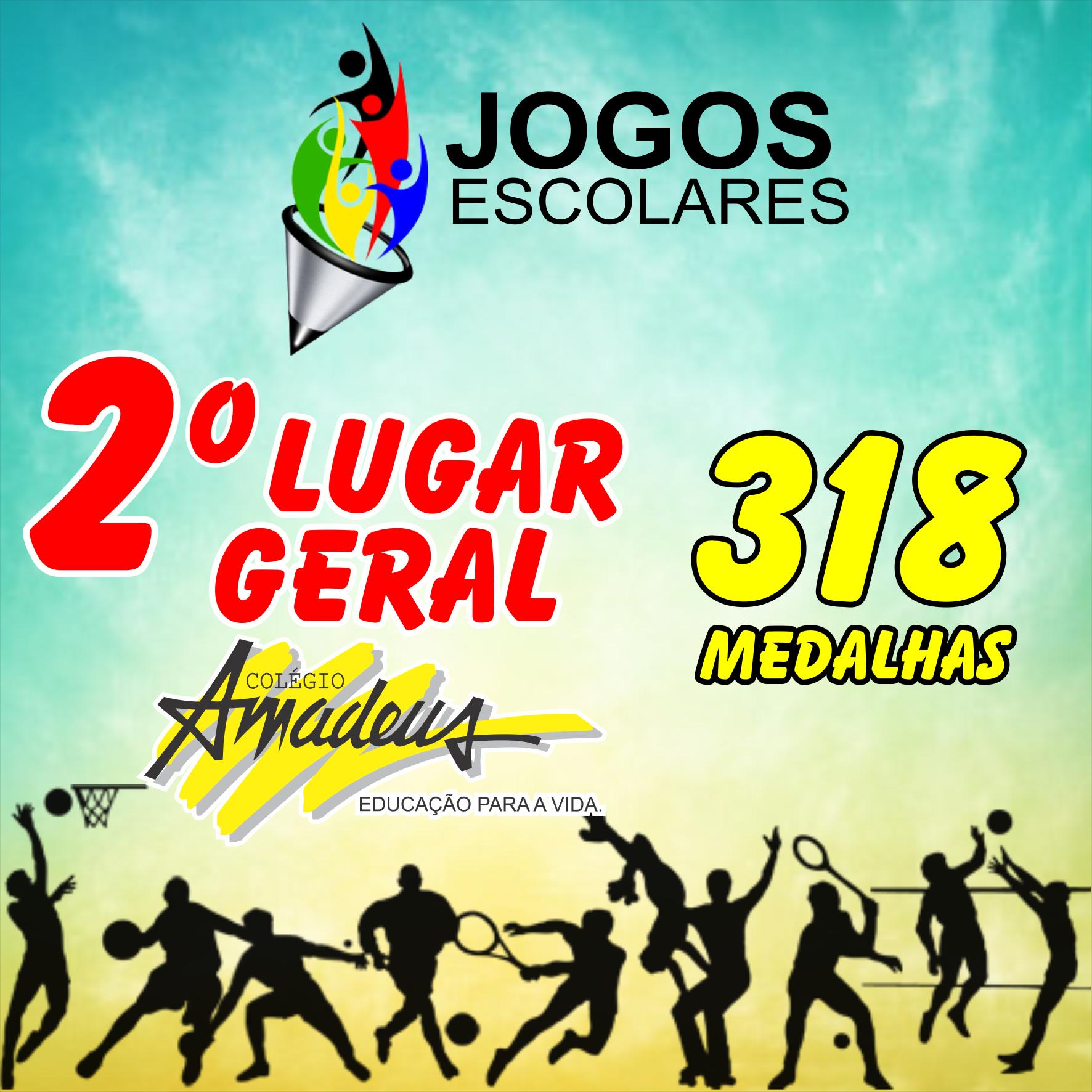 O colégio Amadeus é 2° Lugar GERAL dos JOGOS ESCOLARES TV SERGIPE 2016